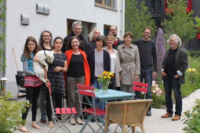 Frau OB Reker zu Besuch (Dritte von rechts).