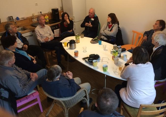 SERVAS Gruppe bei den Wunschnachbarn