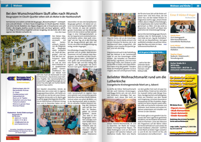 Screenshot vom Nippes Magazin 2018-4