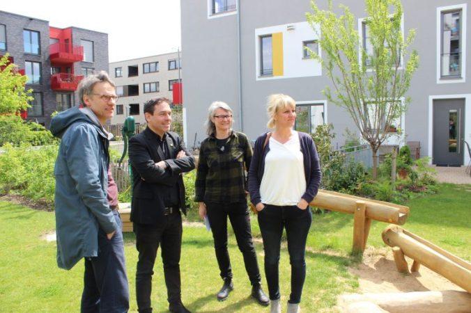 Arndt Klock im G4 Gemeinschaftsgarten (c) arndt-klocke.de