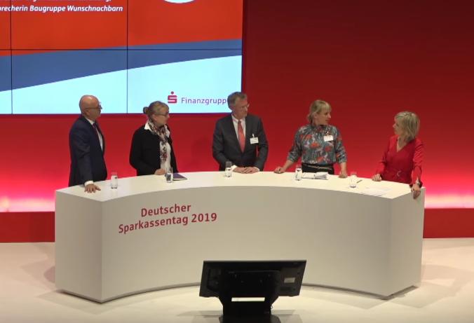 Das Panel am Dt. Sparkassentag (c) www.dsgv.de