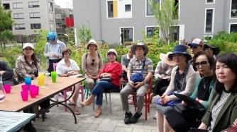 BesucherInnen aus Südkorea
