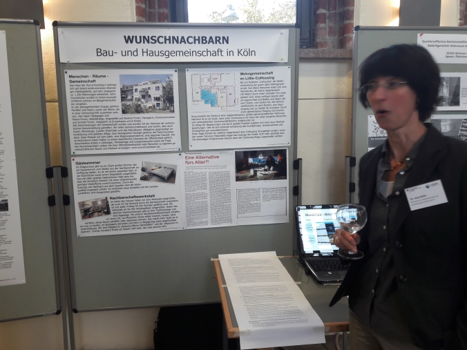 Infostand im Umweltforum Berlin
