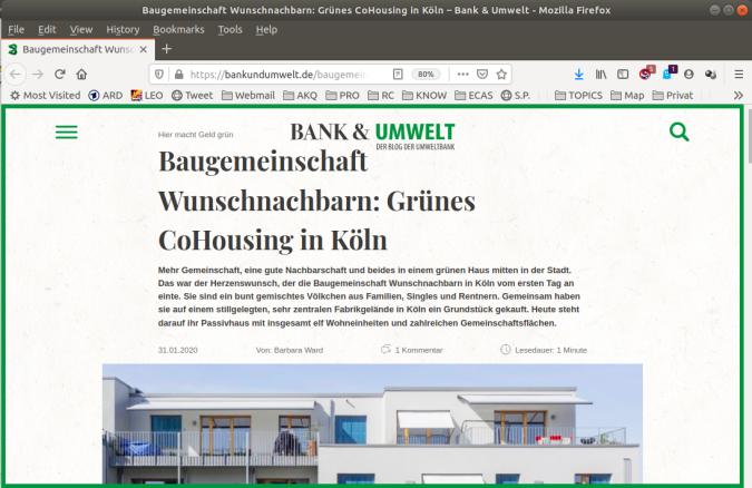 Der Blog der Umweltbank